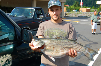 Trout caught in Dickenson County