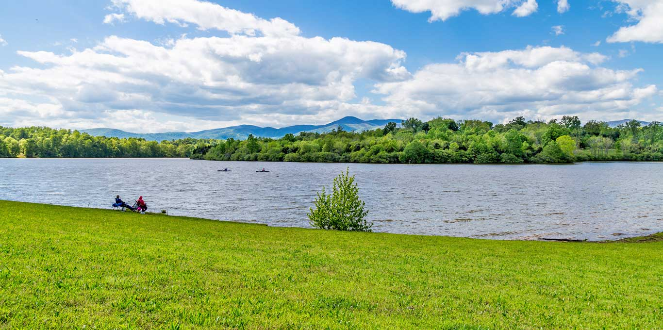 Amherst County lake