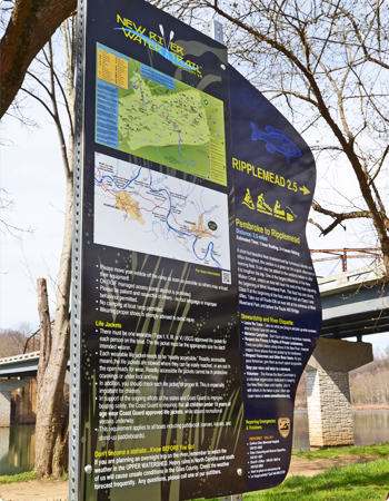 New River Water Trail Signage
