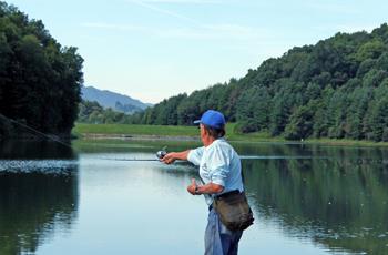 fishing in Tazewell