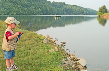 Fishing in Wythe County