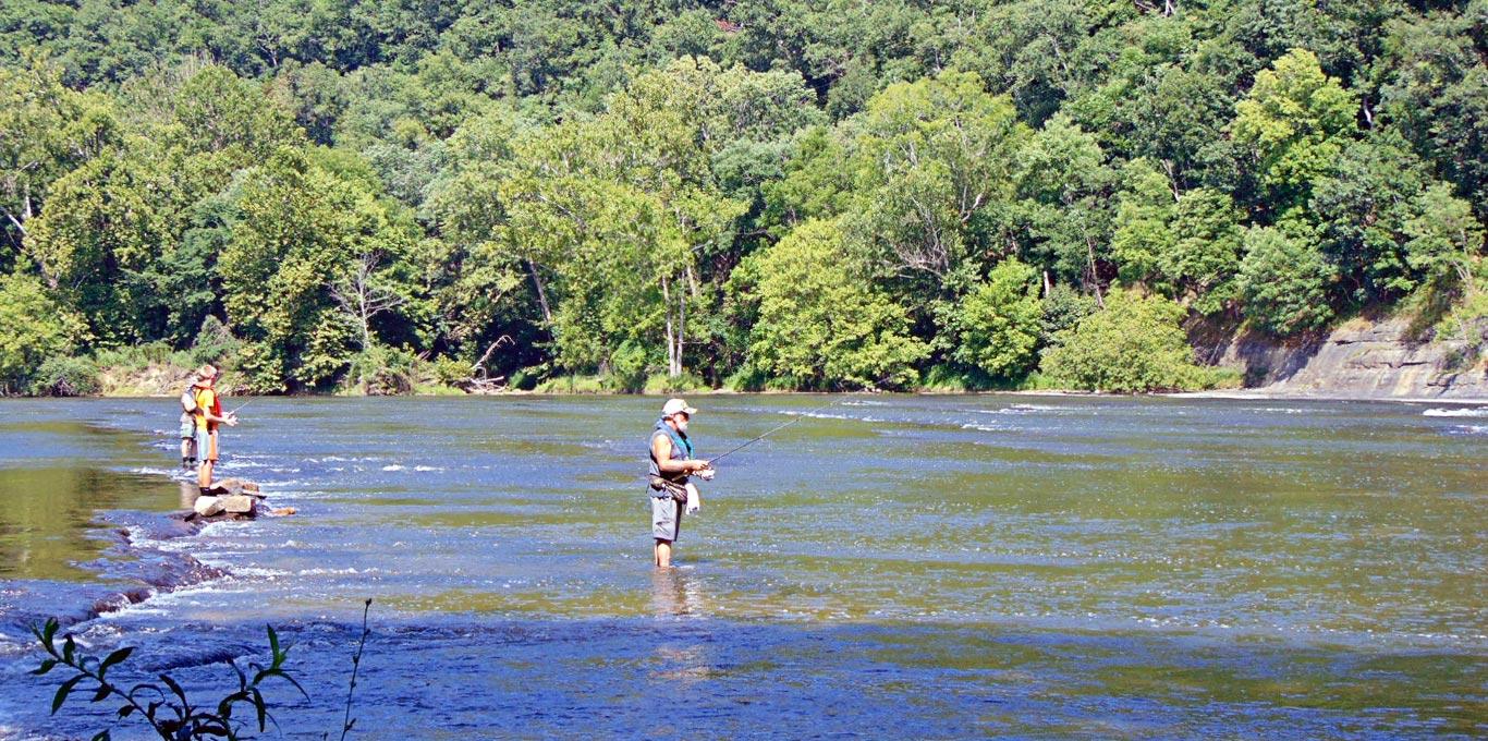 Fishing Foster Falls