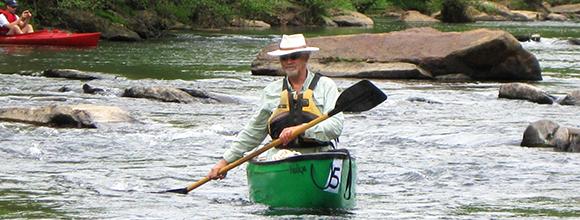 Floating the Tye River