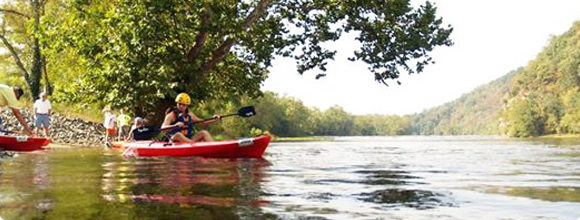 Canoeing in Wythe County