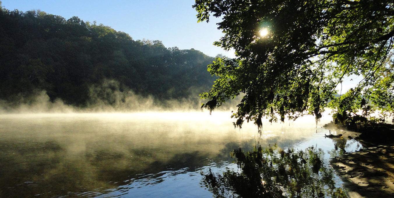 New River in Radford
