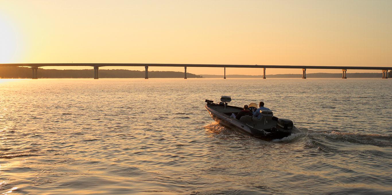 Kerr Lake fishing