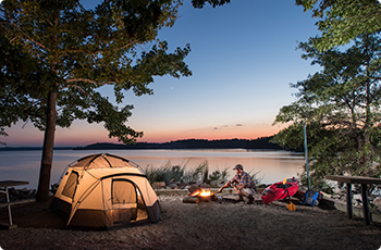 Camping in Mecklenburg