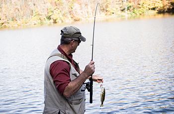 fishing on Norton Reservoir