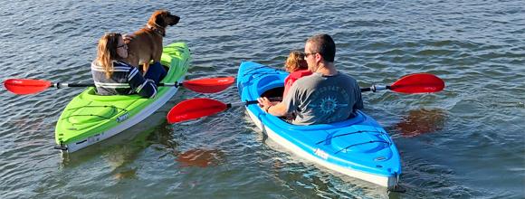 kayaking in Spotsylvania County Va