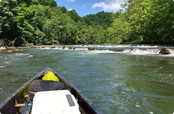 Clinch River in Russell County